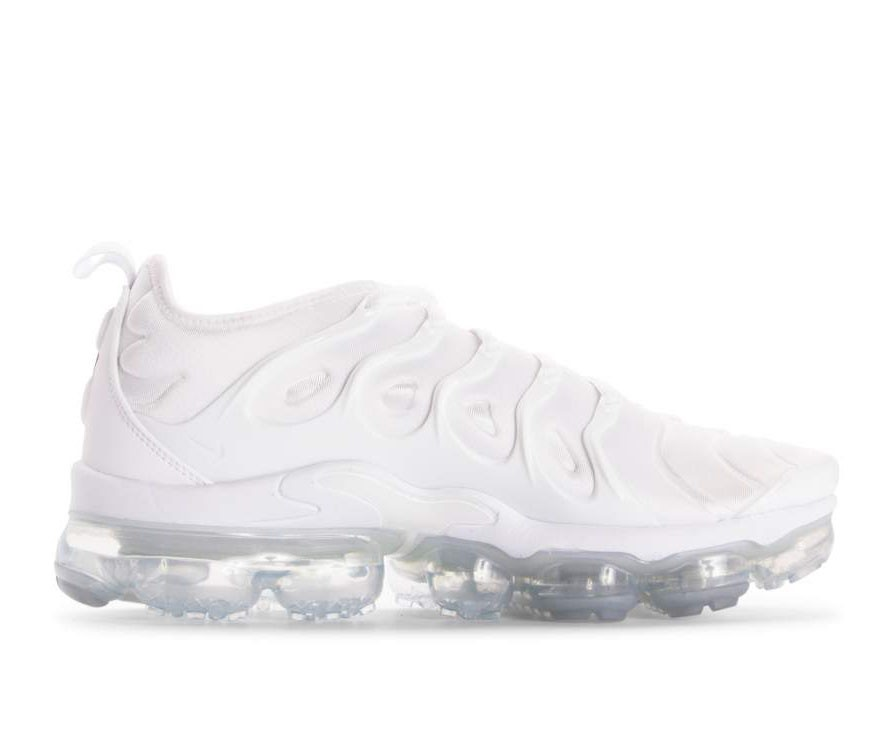 924453-100 Nike Air Vapormax Plus Chaussures - Blanche/Blanche-Pure Platinum