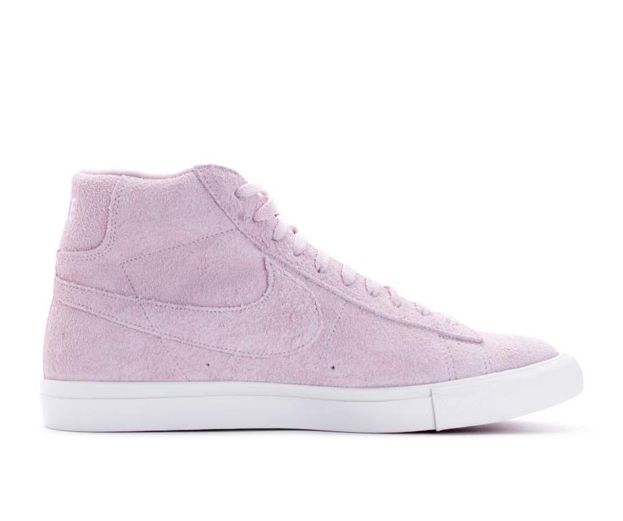 371761-607 Nike Blazer Mid Chaussures - Rouge/Rouge-Blanche