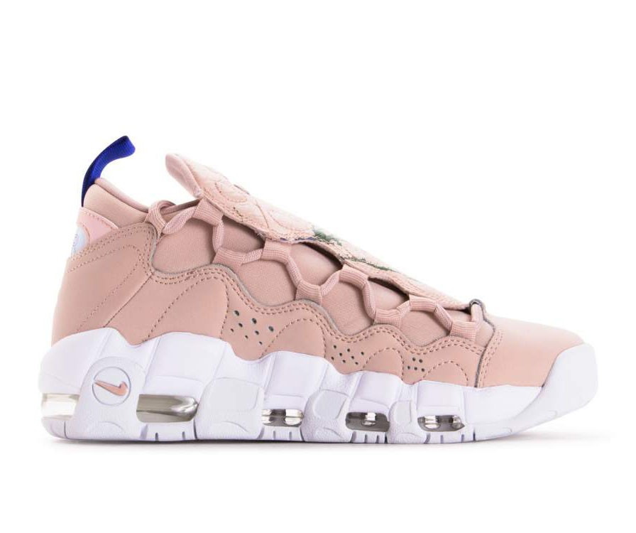 AO1749-200 Nike Air More Money - Beige/Beige/Blanche
