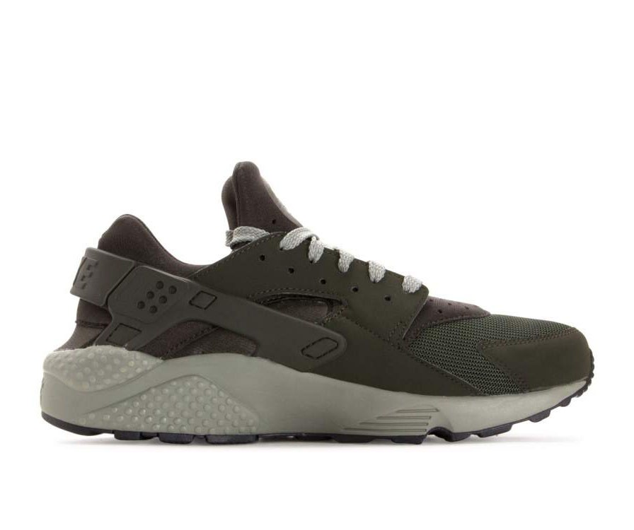 318429-311 Nike Air Huarache Chaussures - Sequoia/Dark Stucco/Noir
