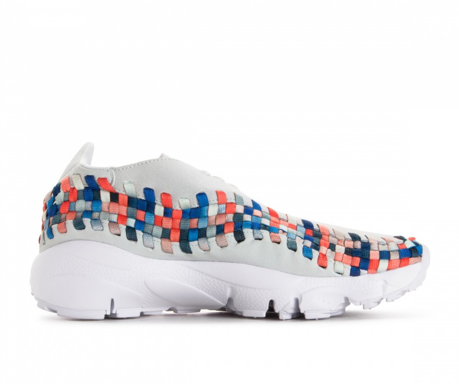 917698-201 Nike Femme Air Footscape Woven - Moon Particle/Grise/Deep Jungle