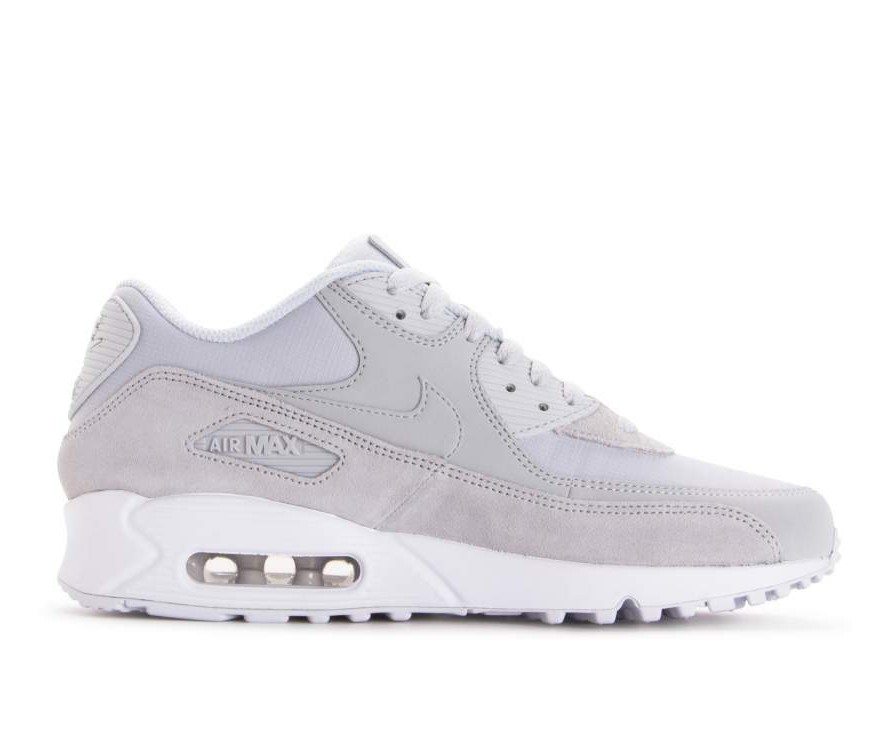 AJ1285-002 Nike Air Max 90 Essential - Pure Platinum/Pure Platinum/Blanche