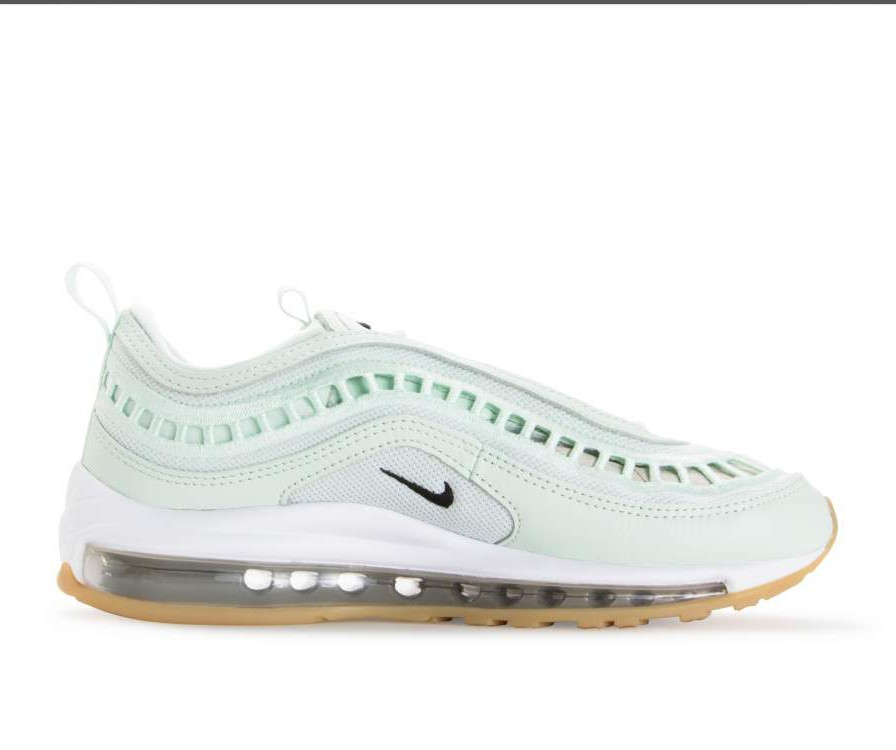 AO2326-300 Nike Femme Air Max 97 Ultra SI Chaussures - Barely Vert/Blanche