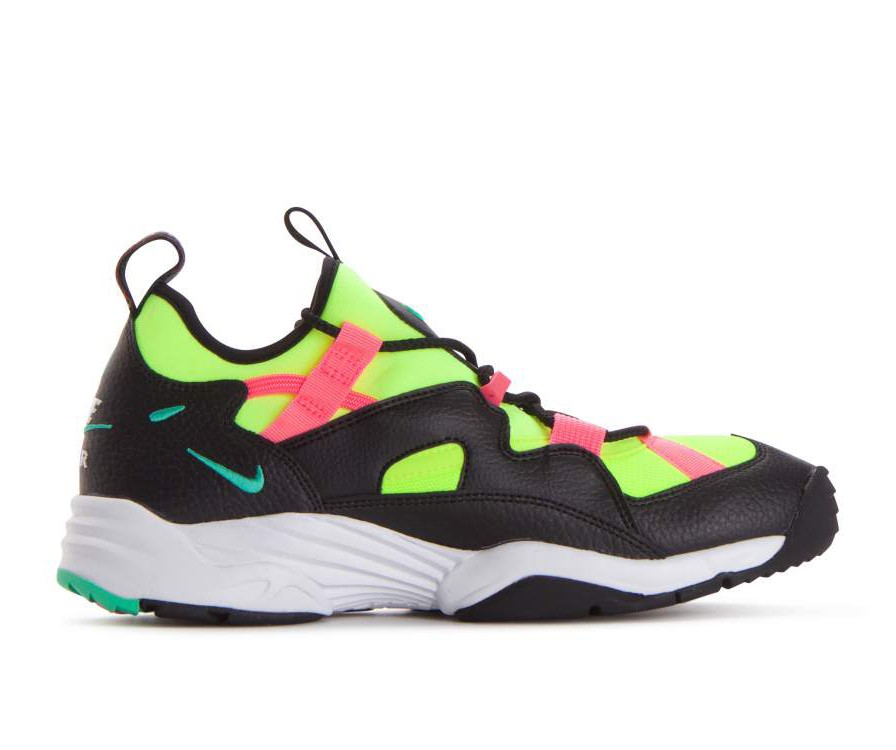 AH8517-001 Nike Air Scream LWP Chaussures - Noir/Menta/Rose/Volt