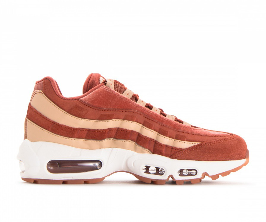 AA1103-201 Nike Femme Air Max 95 LX - Dusty Peach/Dusty Peach-Beige