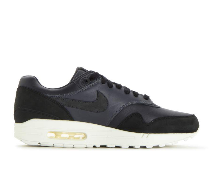 859554-004 Nikelab Air Max 1 Pinnacle - Noir/Anthracite-Gris foncé