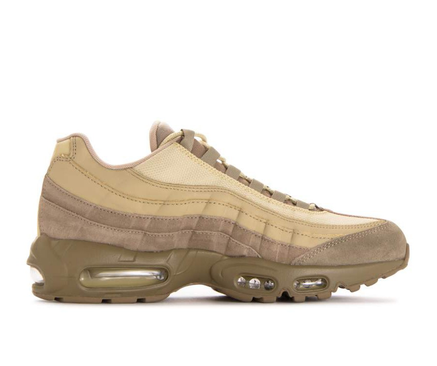 538416-202 Nike Air Max 95 Premium - Khaki/Or