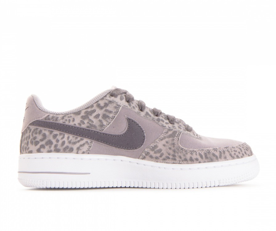 849345-001 Nike Air Force 1 Lv8 GS - Grise/Gunsmoke-Blanche