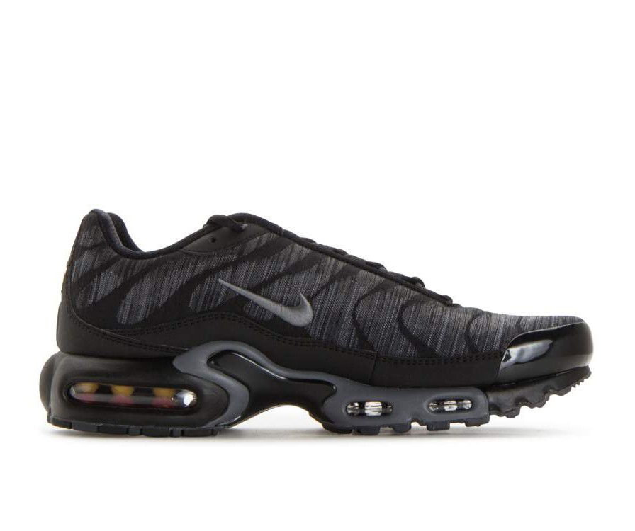 845006-003 Nike Air Max Plus Jacquard - Noir/Anthracite-Grise