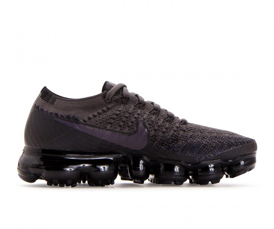 849557-009 Nike Femme Air Vapormax Flyknit - Midnight Fog/Multi-Color-Noir