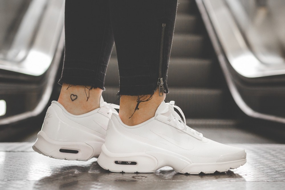 Femme Chaussures NIKE Air Max Jewell 896194 104 Blanche