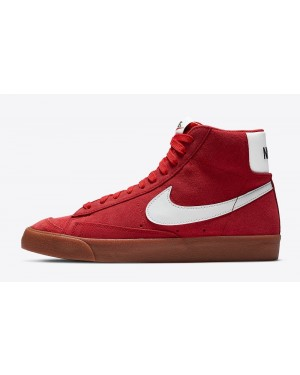 CI1172-600 Nike Blazer Mid Suede Chaussures - Rouge/Blanche-Gum