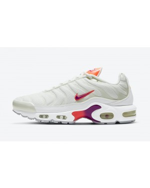 DH3858-100 Nike Air Max Plus Chaussures - Blanche/Violet-Orange