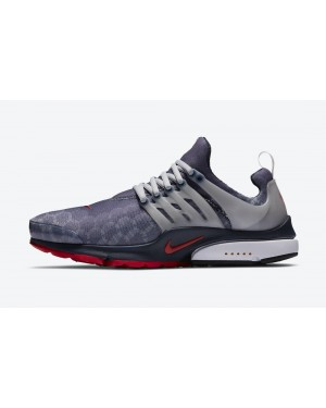 "CJ1229-400 Nike Air Presto ""USA"" Chaussures - Navy/Grise-Rouge-Blanche"