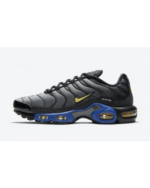 "DJ4956-001 Nike Air Max Plus ""Kiss My Airs"" - Noir/Bleu-Jaune"