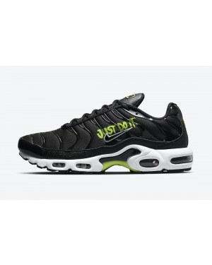 "DJ6876-001 Nike Air Max Plus ""Just Do It"" - Noir/Blanche-Volt"