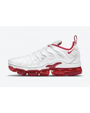 "DH0279-100 Nike Air VaporMax Plus ""Cherry"" - Blanche/Blanche-Rouge"