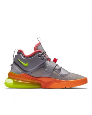 AH6772-007 Nike Air Force 270 Chaussures - Grise/Volt/Orange
