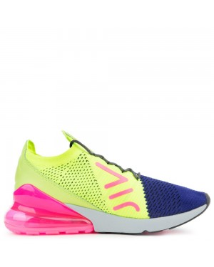 AO1023-501 Nike Air Max 270 Flyknit - Violet/Grise-Volt