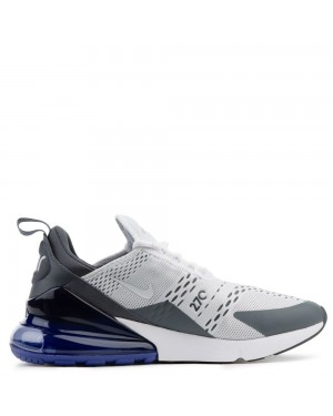 AH8050-107 Nike Homme Air Max 270 Chaussures - Blanche/Blanche-Persian Violet