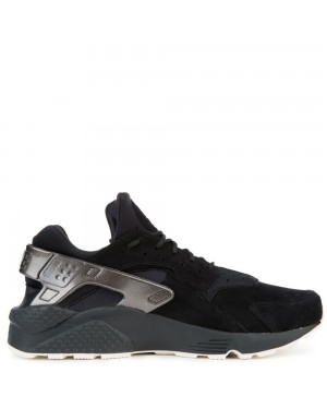704830-014 Nike Air Huarache Run PRM Chaussures - Noir/Sail