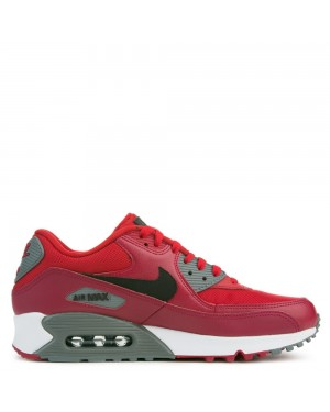 537384-606 Nike Air Max 90 Essential - Gym Rouge/Noir/Rouge