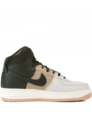 806403-008 Nike Air Force 1 High '07 LV8 - Light Bone/Sequoia-Khaki
