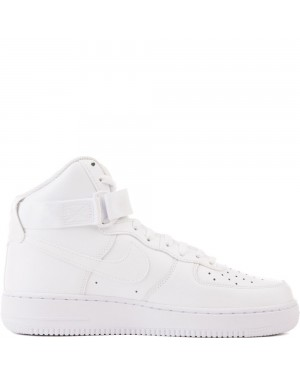 315121-115 Homme Nike Air Force 1 High '07 Chaussures - Blanche/Blanche