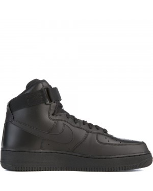 315121-032 Homme Nike Air Force 1 High '07 - Noir/Noir