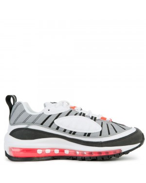 AH6799-104 Femme Nike Air Max 98 - Blanche/Rouge/Argent