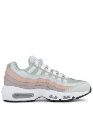 307960-018 Nike Air Max 95 - Argent clair/Blanche-Moon Particle