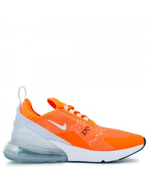 AH6789-800 Nike Air Max 270 Chaussures - Orange/Blanche