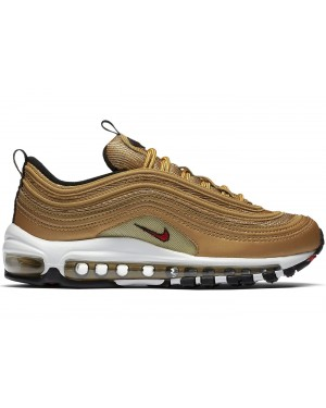 Nike Air Max 97 Femme Metallic Gold/Rouge-Blanche 885691-700