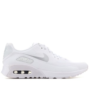 low priced 2ef6b a74e9 Nike Femme Air Max 90 Ultra 2.0 Blanche Grise - 881106-101 ...