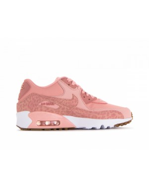 897987-601 Nike Air Max 90 Leather Se Gs - Coral Stardust/Rose