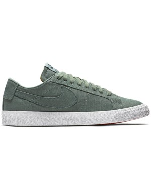 Nike SB Blazer Low Canvas Deconstructed AH3370-300 - Vert/Deep Jungle