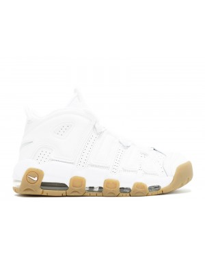 Nike Air More Uptempo Blanche/Blanche/Marron 414962-103
