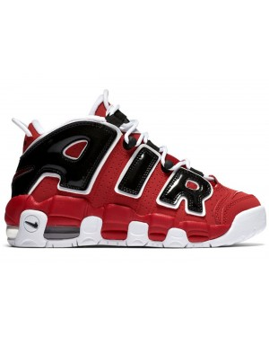 Nike Air More Uptempo GS Rouge/Blanche-Noir 415082-600
