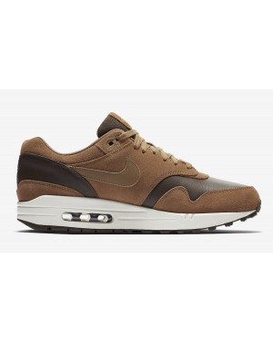 Nike Air Max 1 Premium Leather Marron/Golden Beige AH9902-200