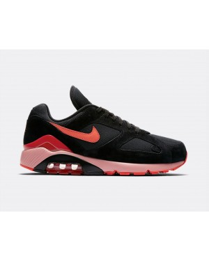 AV3734-001 Nike Air Max 180 - Noir/Orange-Rouge