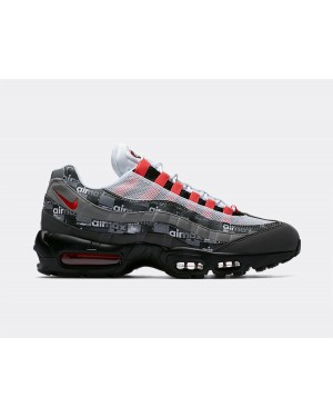 AQ0925-002 Nike Air Max 95 Print - Noir/Bright Crimson-Medium Ash