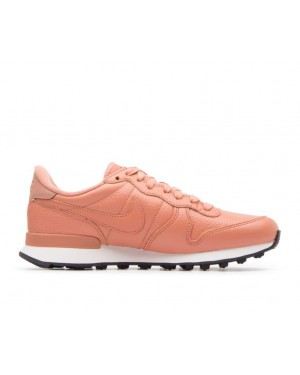 828404-205 Nike Femme Internationalist Premium - Terra Blush/Orange-Blanche