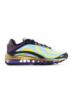AQ1272-400 Nike Femme Air Max Deluxe - Midnight Navy/Orange