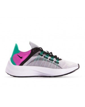 AO3170-003 Nike Femme Exp-14 Chaussures - Grise/Viola-Clear Emerald-Noir