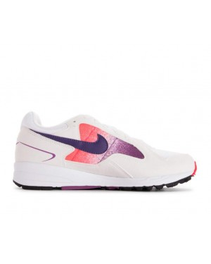AO4540-102 Nike Femme Air Skylon II Chaussures - Blanche/Violet-Rouge