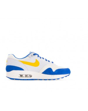 AH8145-108 Nike Air Max 1 - Sail/Amarillo-Pure Platinum-Bleu