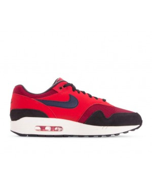 AH8145-600 Nike Air Max 1 - Rouge/Midnight Navy-Rouge