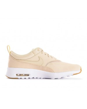 616723-204 Nike Femme Air Max Thea Premium Chaussures - Beach/Metallic Gold-Sail