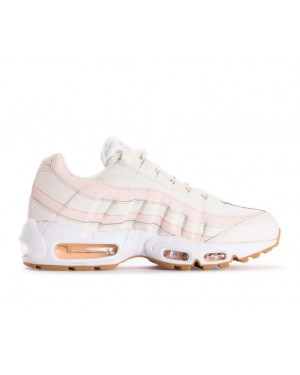 307960-111 Nike Femme Air Max 95 Chaussures - Sail/Guava Ice-Marron