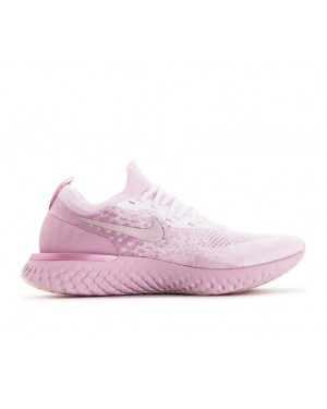 AQ0067-600 Nike Epic React Flyknit - Rose/Rose/Barely Rose